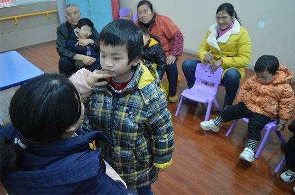 自闭症儿童康复训练